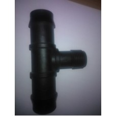 Tee Male Threaded 25mm to 15mm